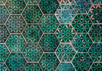 Original and reconstructed tiled floor | © Swiss National Museum