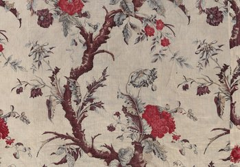 Indienne fabric with 'tree of life' motif, probably Neuchâtel, around 1800 | © Swiss National Museum, former Petitcol Collection