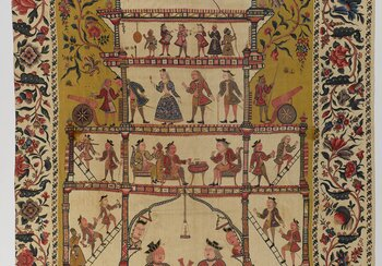 Wall hanging (palampore) from the Coromandel Coast, India, around 1700-1750 | © Swiss National Museum, former Petitcol Collection
